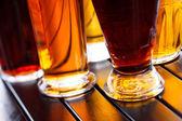 Cool beer mugs — Stock Photo