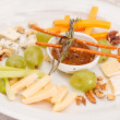 Stock Photo: Cheese plate