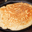 Pancake preparation — Stockfoto