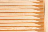 Wood blinds — Stock Photo