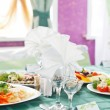 Wedding table setting — Stock Photo #31706319