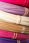 Color rattan — Stock Photo