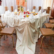 Wedding table setting — Stock Photo #31710353