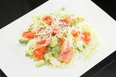 Salad with salmon — Stock Photo