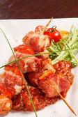 Kebab smaczny — Zdjęcie stockowe