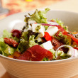 Stock Photo: Salad with feta