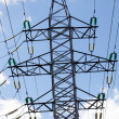 Voltage tower — Stock Photo