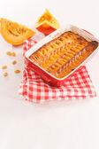 Pumpkin tart — Stock Photo