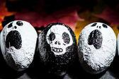 Halloween characters — Stock Photo