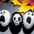 Halloween characters — Stock Photo