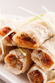 Roll food wrappers — Photo