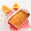 Pumpkin tart — Stock Photo #34028607