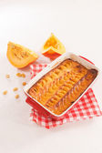 Pumpkin tart — Stock Photo