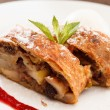 Apple strudel — Stock Photo