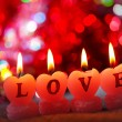 Romantic candles — Stockfoto #34110655