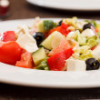 greek salad&quot — Stock Photo #34110701