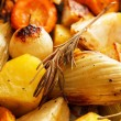 Roasted vegetables — Stock Photo #34268129