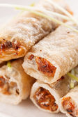 Roll food wrappers — 图库照片
