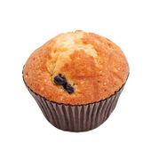 Muffin with black currant — Stock Photo