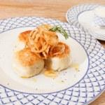 Vegetarian potato cutlets — Stock Photo