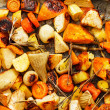 Roasted vegetables — Stock Photo #35245929