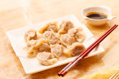 Jiaozi - empanadillas chinas — Foto de Stock