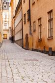 Ulica w Sztokholmie — Zdjęcie stockowe