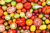 Colorful tomatoes — Stock Photo