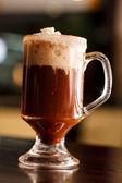 クリームとのコーヒー — ストック写真