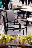 Outdoor cafe — Stock Photo