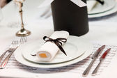 Romantic table setting — Fotografia Stock