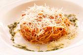 Boloňské špagety — Stock fotografie