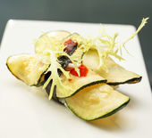 Vegetarian sushi — Stock Photo