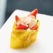 Sushi with strawberry — Stock Photo