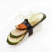 Vegetarian nigiri — Stock Photo