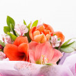 Flowers bouquet — Stock fotografie