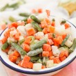 Frozen vegetables — Stock Photo #36374431