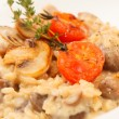 Delicious mushroom risotto  — Stock Photo