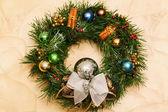 Christmas wreath — Stock fotografie