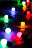 クリスマス ランプ — ストック写真