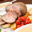 Baked ham — Stock Photo #37272355