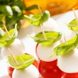 Tomato and mozzarella — Stock Photo #37272489