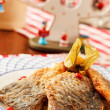 Carp for traditional polish christmas eve — Stock Photo
