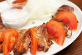 Delicious BBQ ribs — Stock Photo