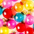 Colorful Christmas balls — Stock Photo