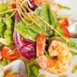 Stock Photo: Seafood salad