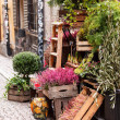 Stock Photo: Small flower shop