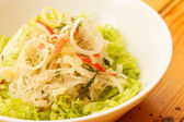 Salad with cabbage — Stock Photo