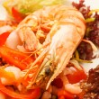 Shrimp salad — Stock Photo #38738021