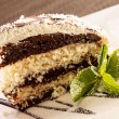 coconut cake&quot — Stock Photo